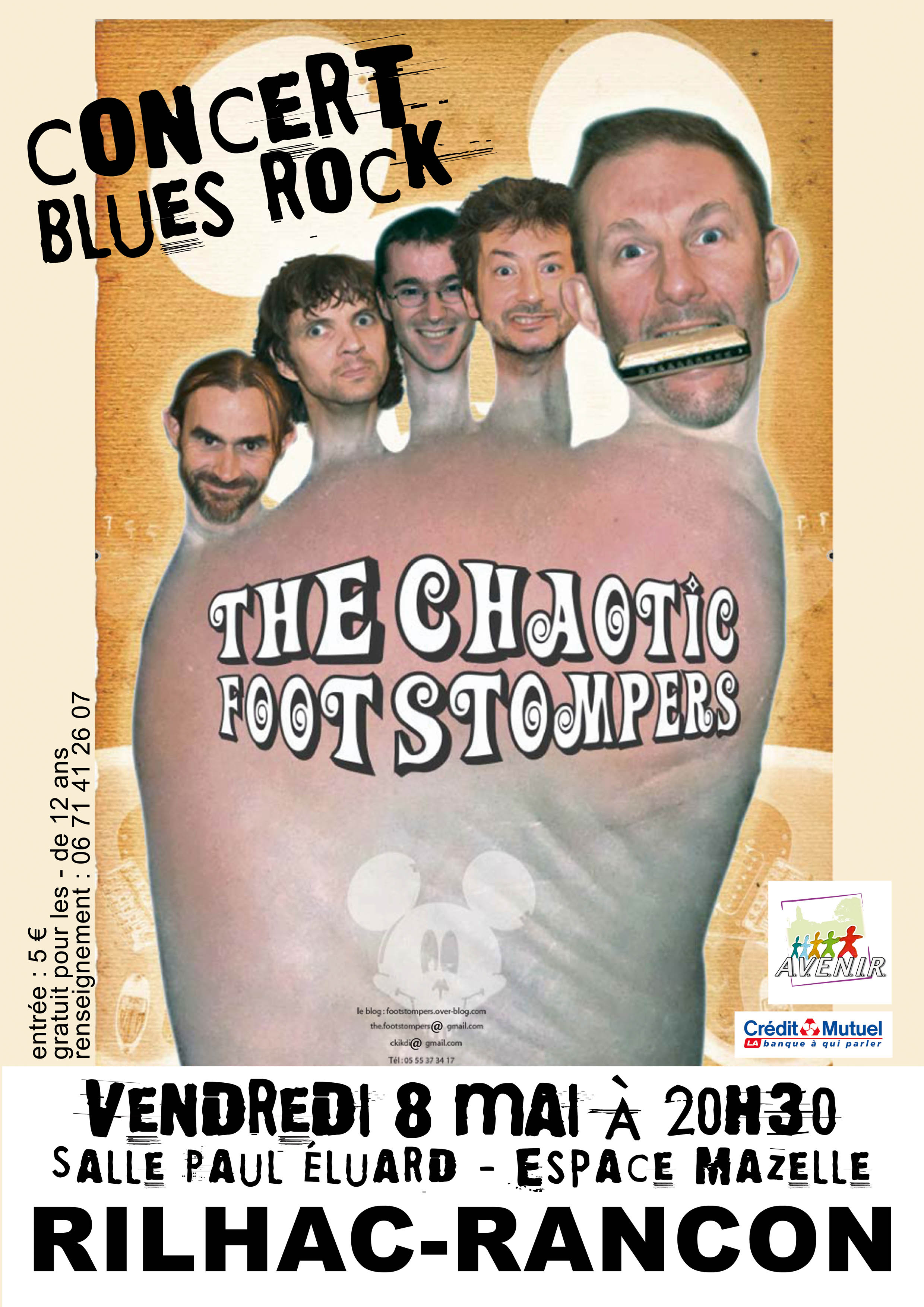 The Chaotic Footstompers